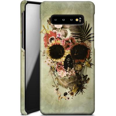 Samsung Galaxy S10 Plus Smartphone Huelle - Garden Skull Light von Ali Gulec