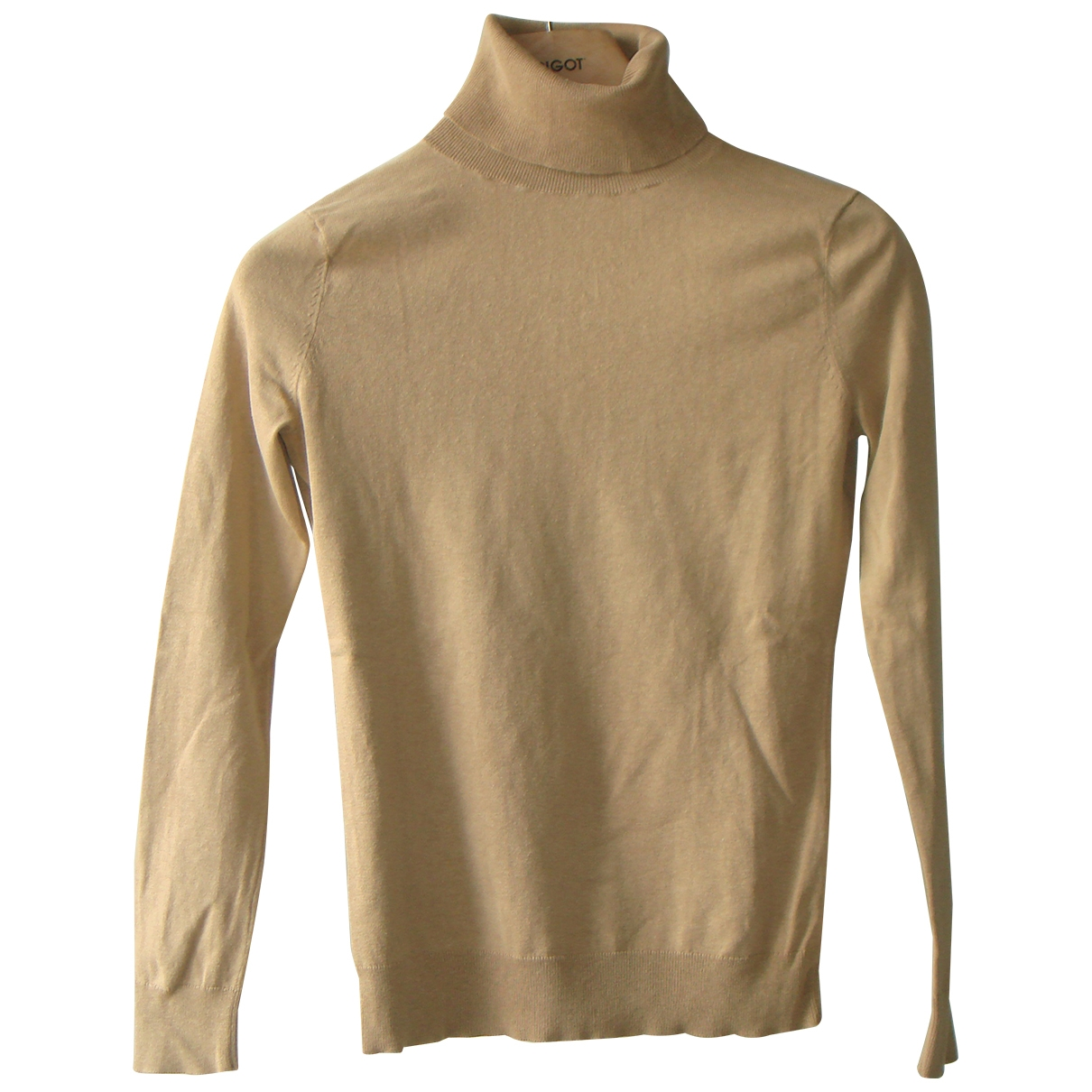 Banana Republic \N Pullover in  Kamel Seide
