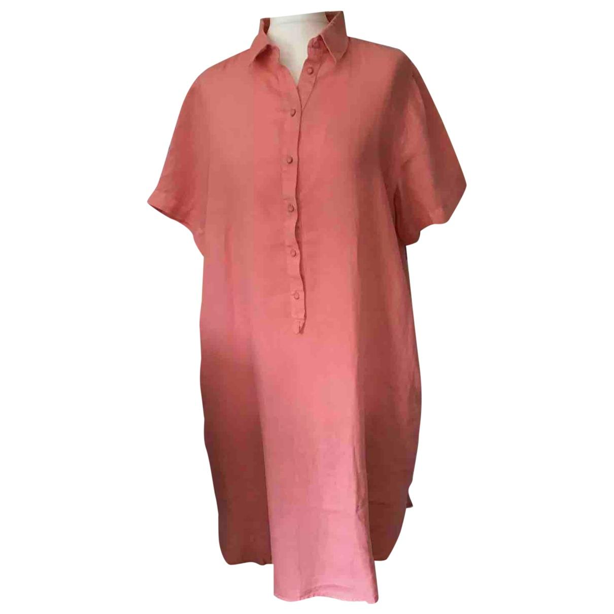 Vestido midi de Lino 120% Lino