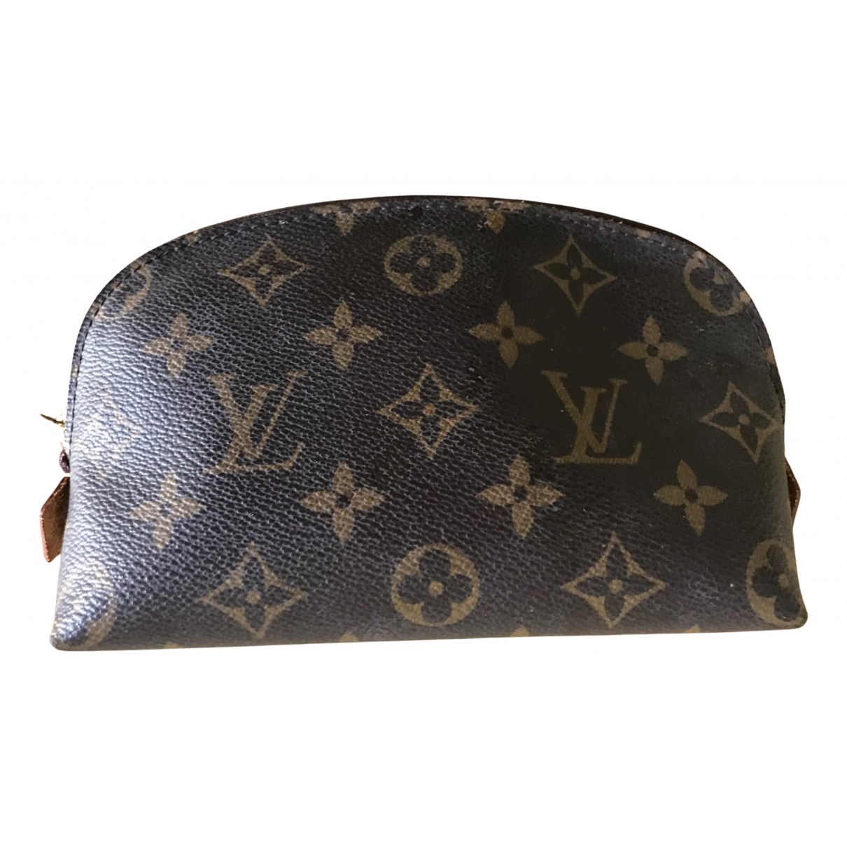 Louis Vuitton \N Reisetasche in  Braun Leinen