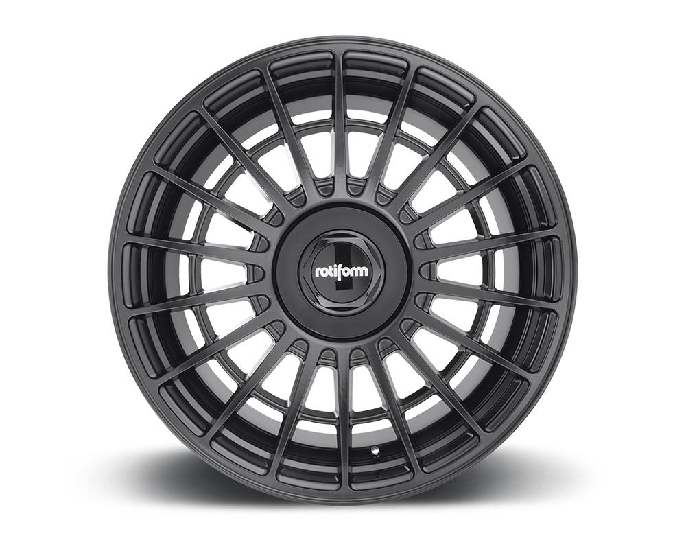 Rotiform R142178025+35 LAS-R Matte Black Cast Monoblock Wheel 17x8 5x112 | 5x120 35mm