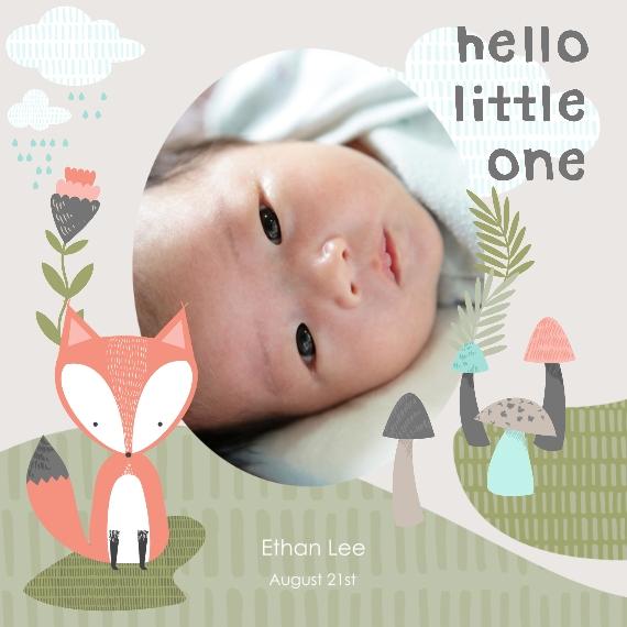 Baby + Kids 12x12 Designer Print - Matte, Prints -Hello LittleFox