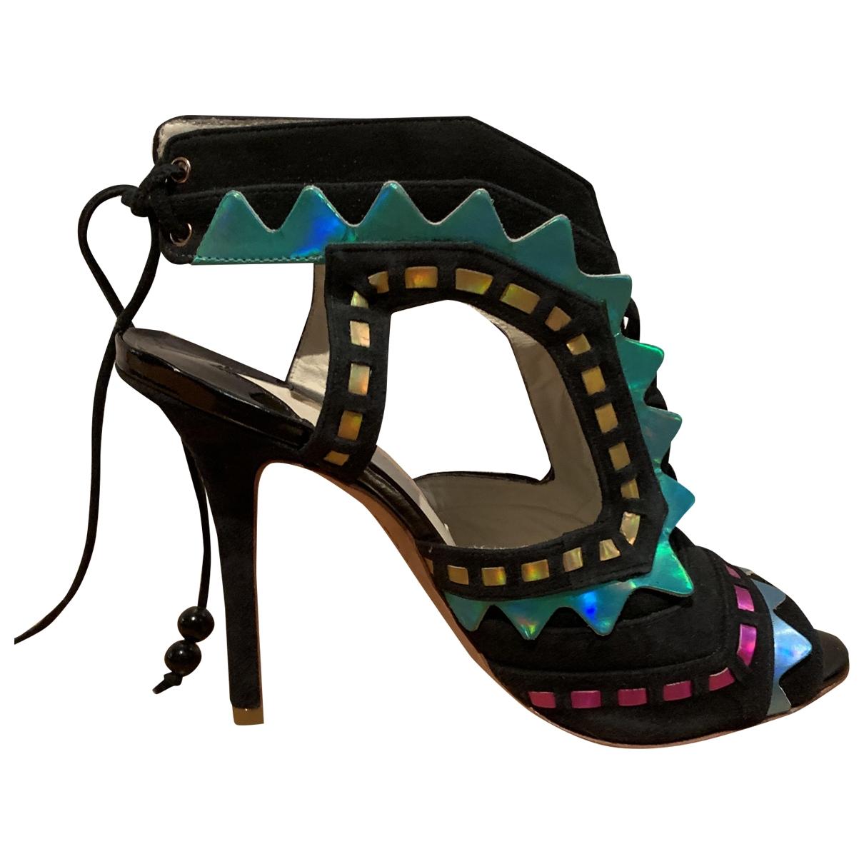 Sophia Webster \N Multicolour Suede Sandals for Women 39.5 EU