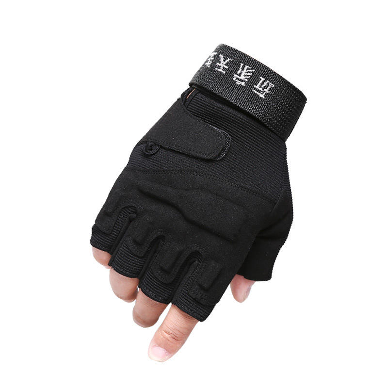C.Q.B ST003 Half-finger Tactical Gloves Anti-slip Glove For Outdoor Cycling Sports