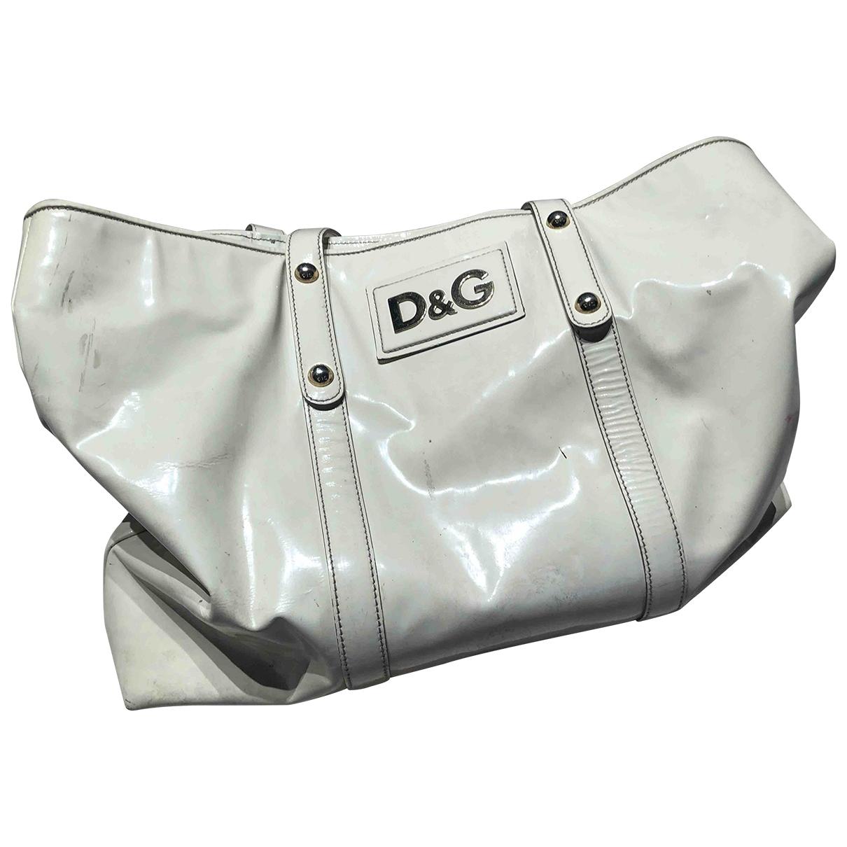 D&g \N White Leather Travel bag for Women \N