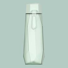 1pc Geometric Tritan Water Bottle