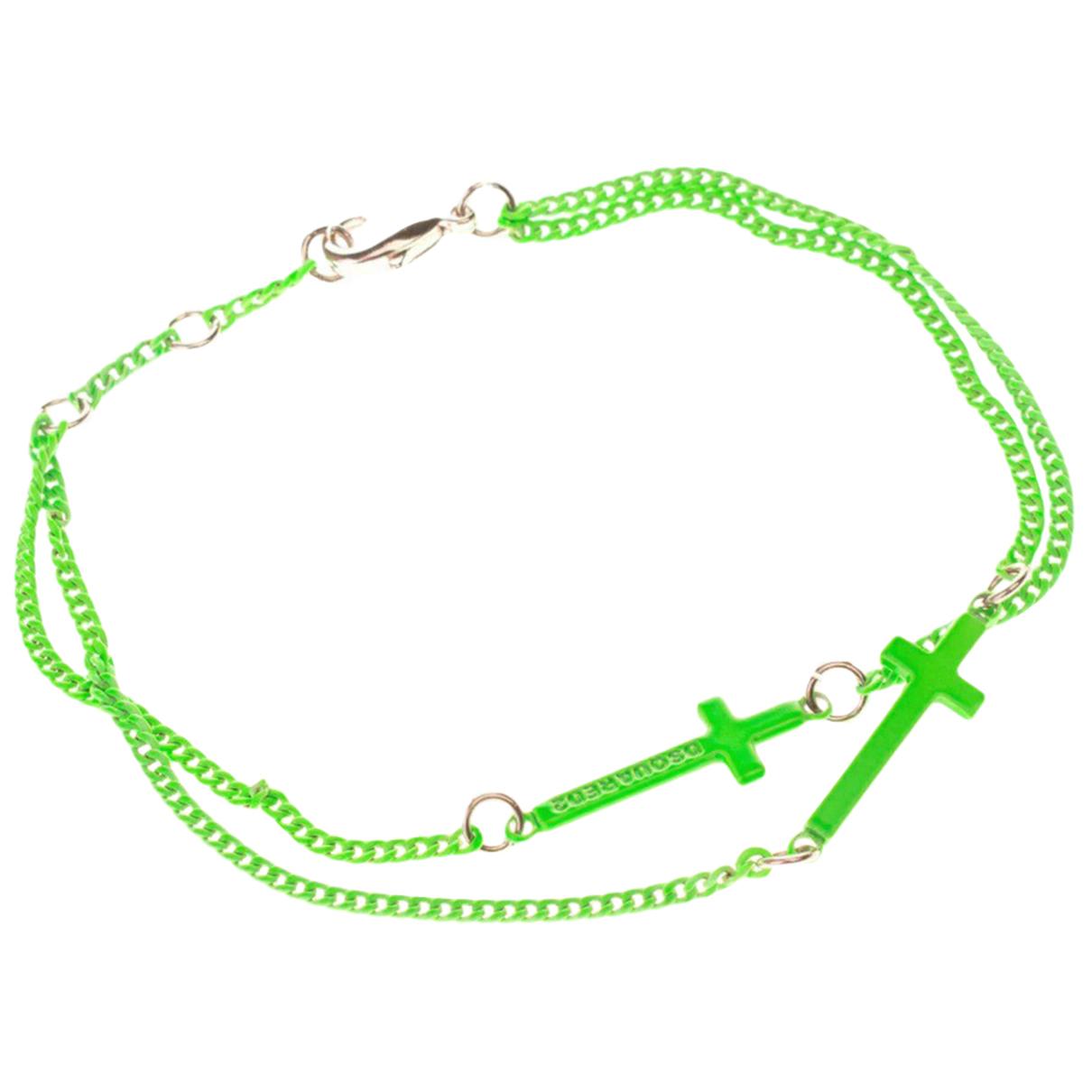 Dsquared2 - Bracelet   pour femme en metal - vert