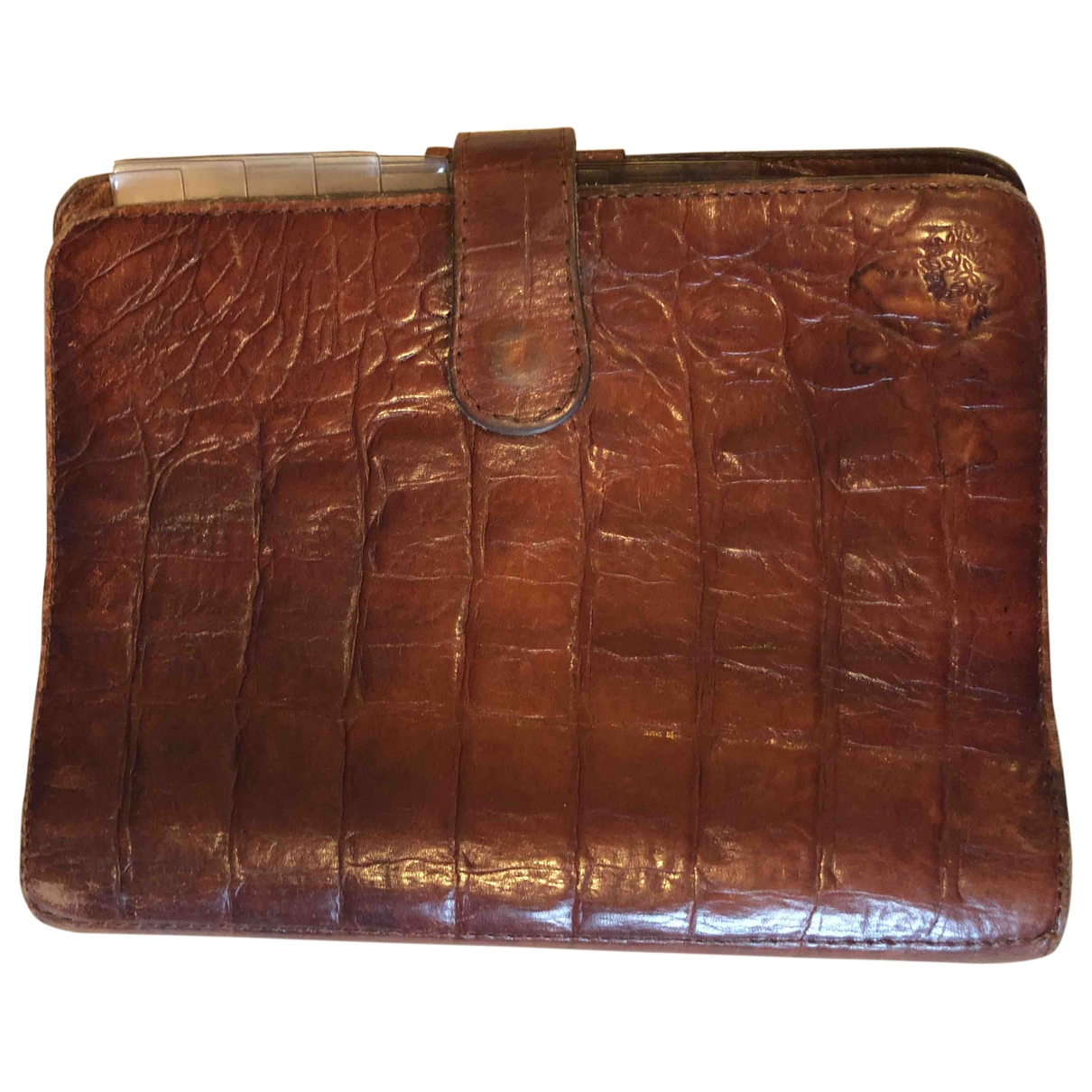 Mulberry \N Brown Leather Home decor for Life & Living \N
