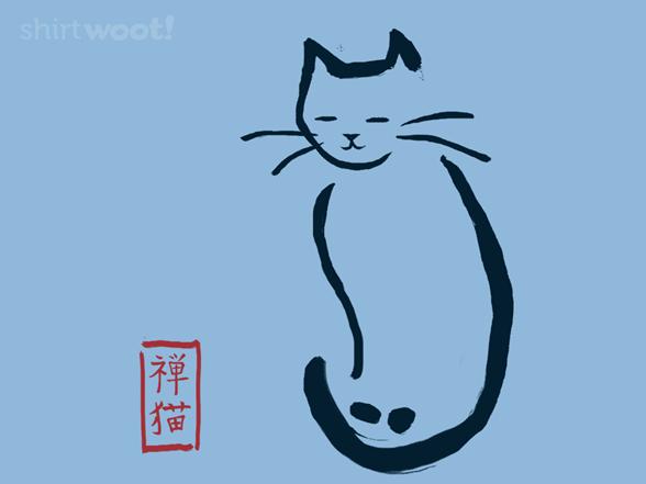 Zen Neko T Shirt