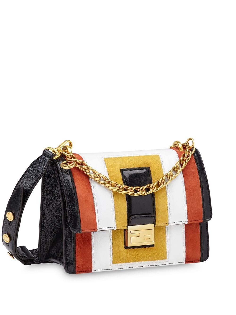 Kan U Leather Shoulder Bag