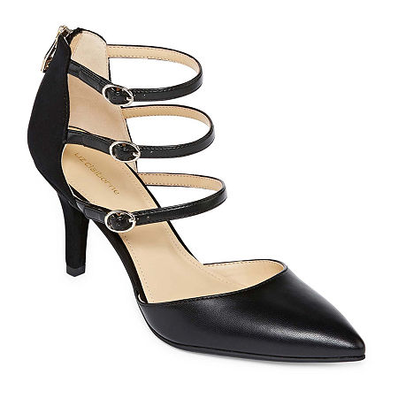 Liz Claiborne Womens Hara Pumps Spike Heel, 6 1/2 Wide, Multiple Colors