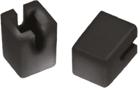APEM Black sq cap for keyboard switch,6x6mm (10)