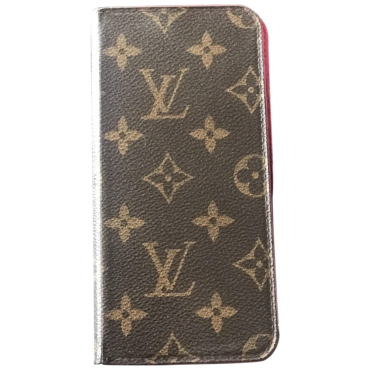 Louis Vuitton \N Accessoires in  Braun Leinen