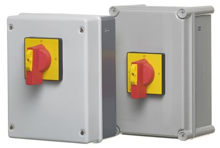 RS PRO 4 Pole Panel Mount Switch Disconnector - 63 A Maximum Current, 30 kW @ 240 V, 45 kW @ 440 V, 45 kW @ 690 V Power
