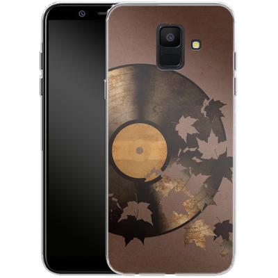 Samsung Galaxy A6 Silikon Handyhuelle - Autumn Song von Terry Fan