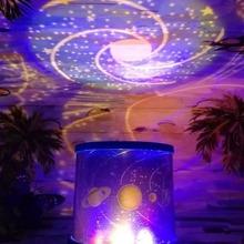 Lampara LED para proyector de planeta