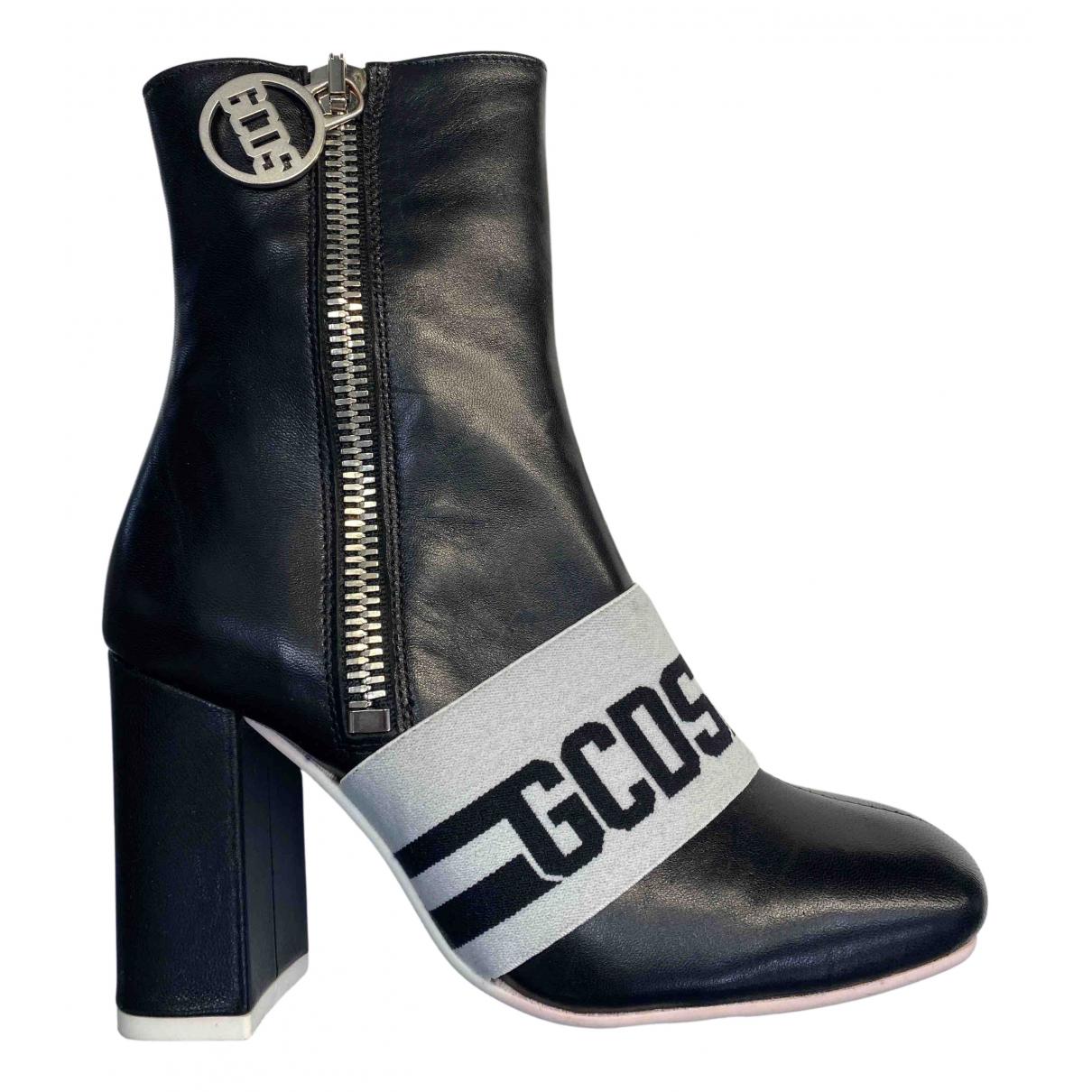 Gcds \N Stiefeletten in  Schwarz Leder