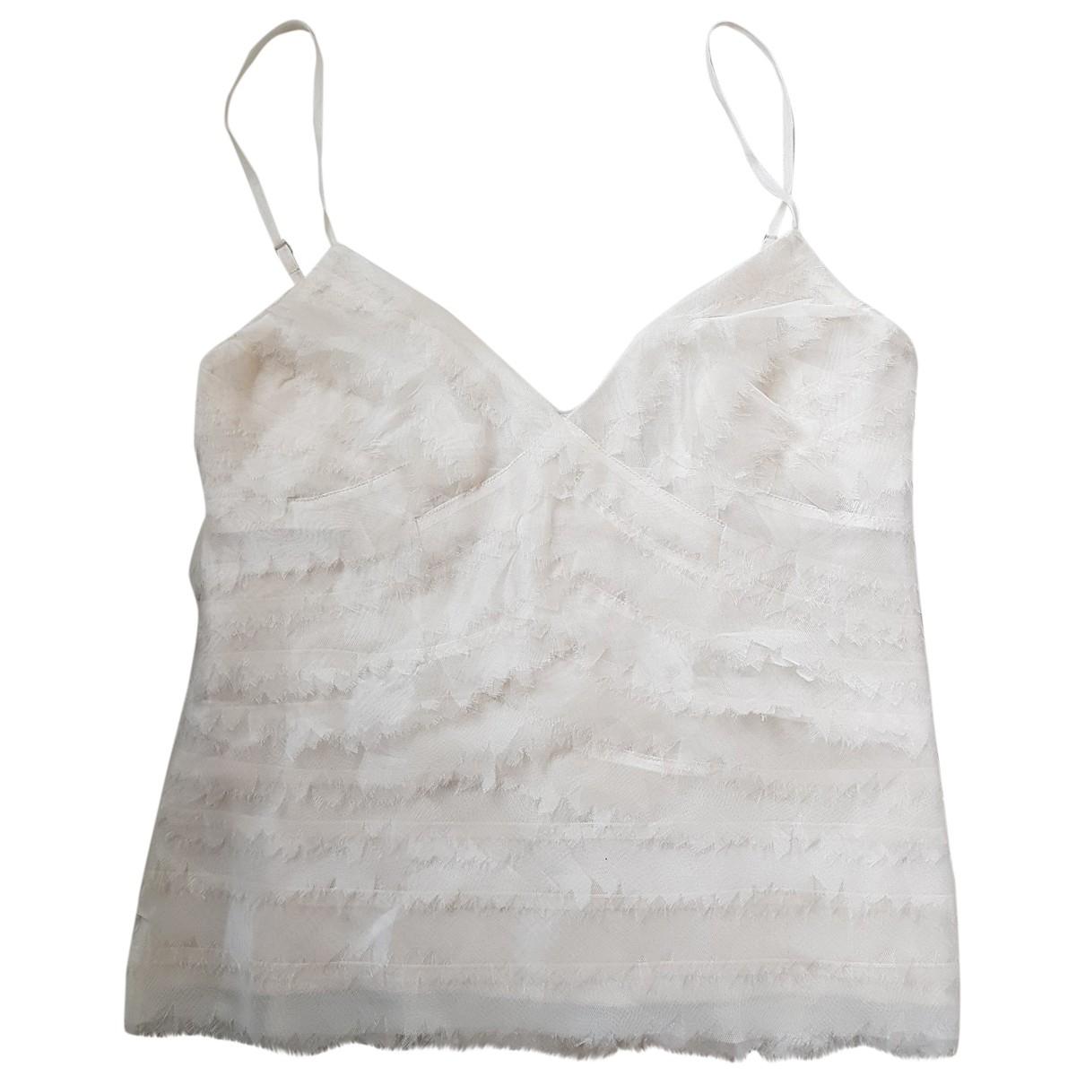 Herve Leger - Top   pour femme en soie - beige