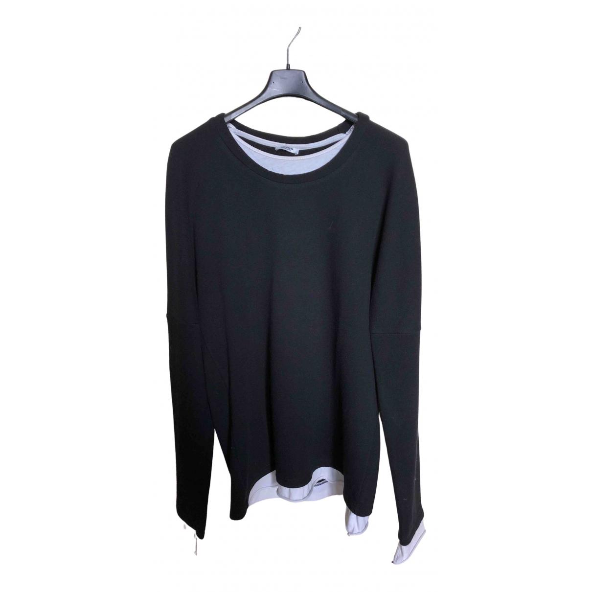 Imperial \N Pullover.Westen.Sweatshirts  in  Schwarz Baumwolle