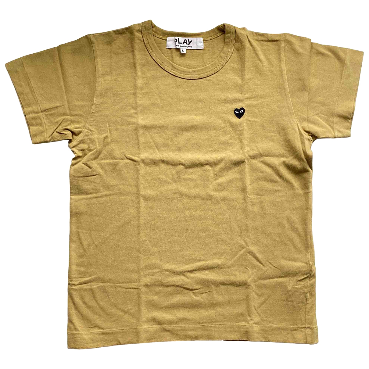 Play Comme Des Garçons \N Khaki Cotton  top for Women L International