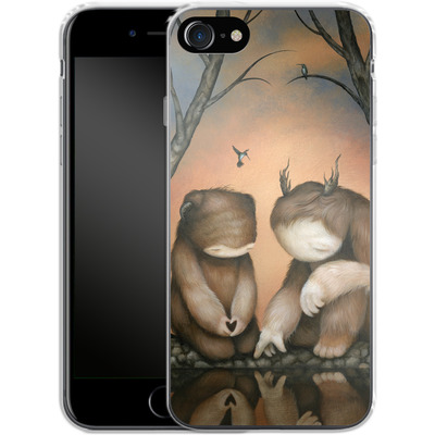 Apple iPhone 7 Silikon Handyhuelle - At the Waters Edge von Dan May