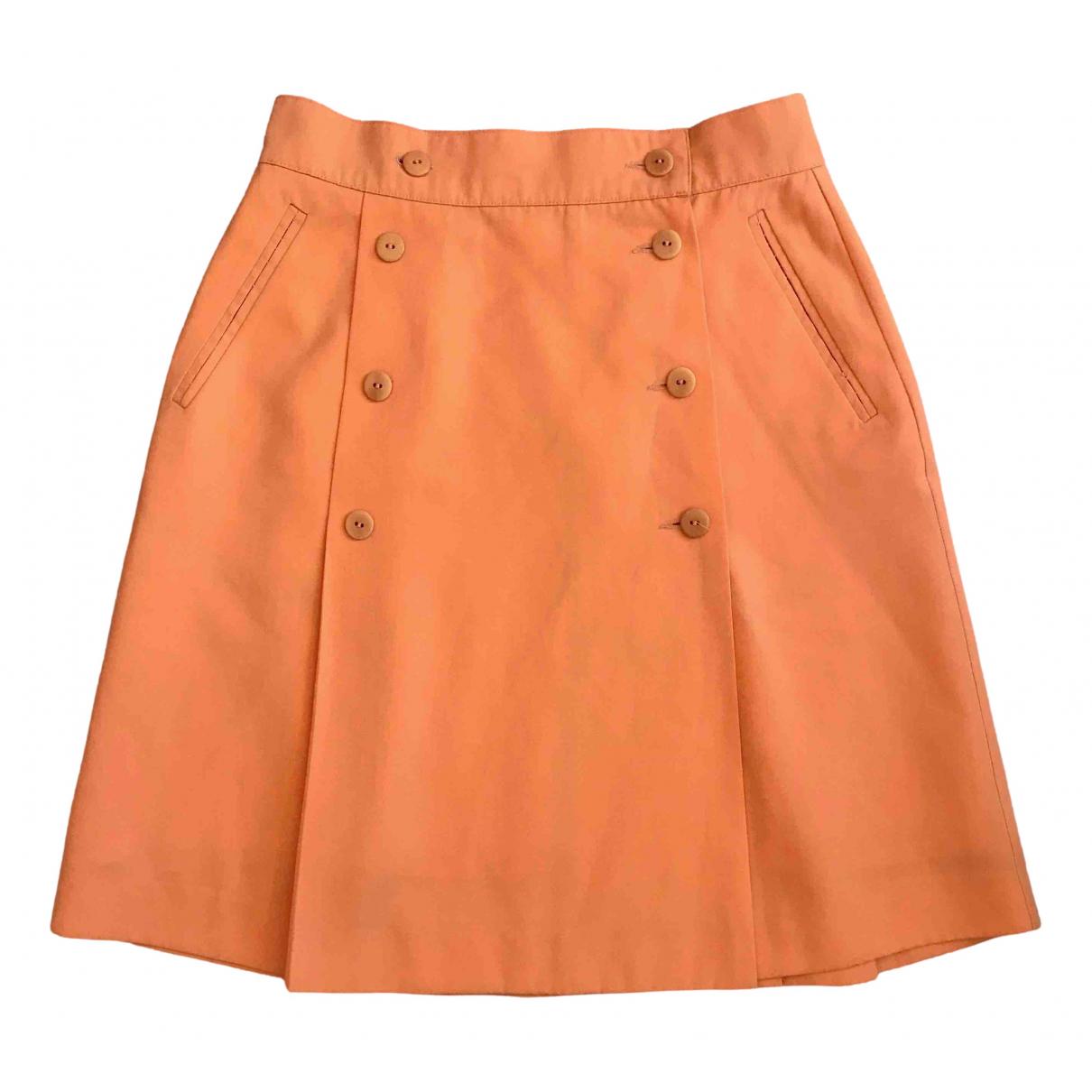Non Signé / Unsigned \N Orange skirt for Women 44 IT