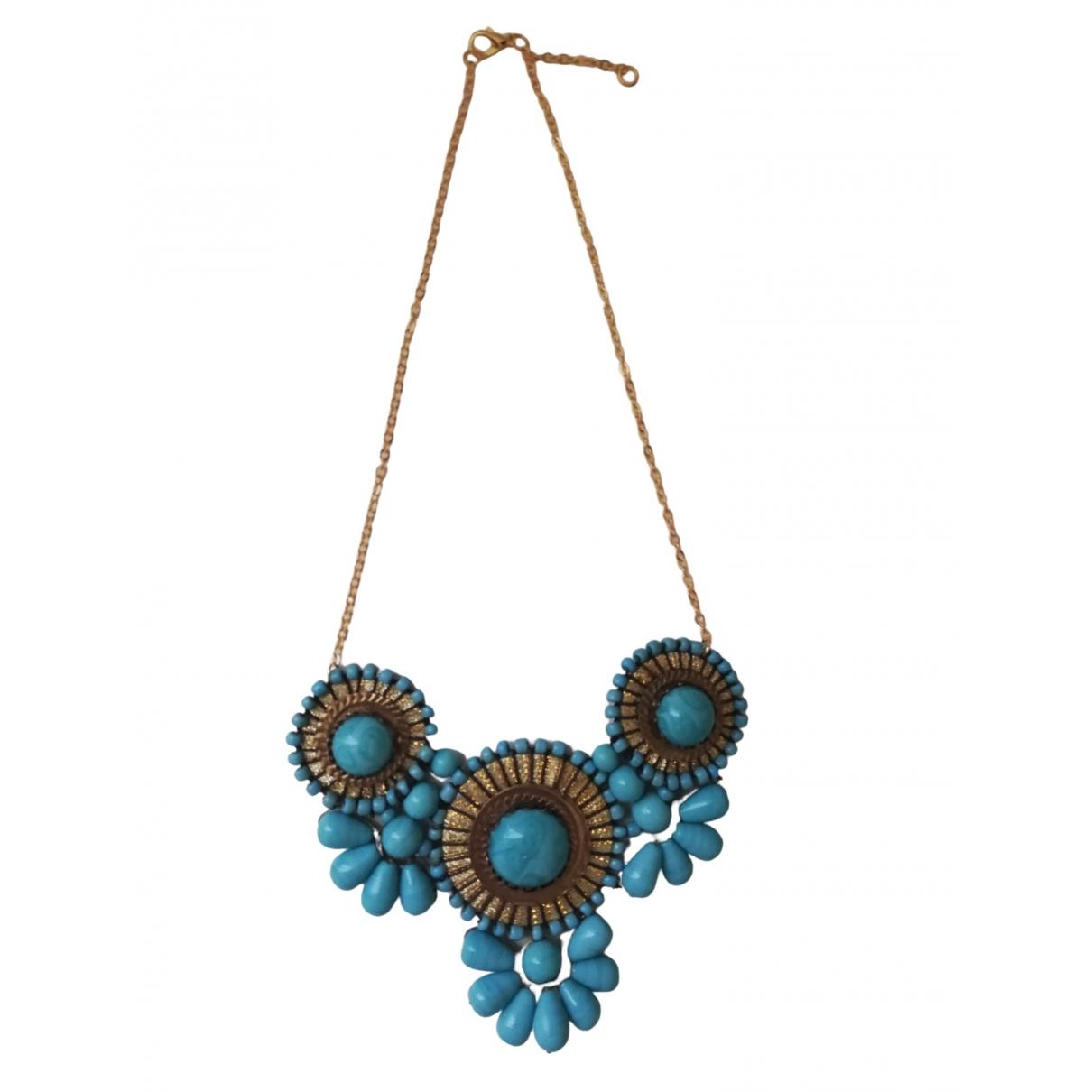 - Collier Turquoises pour femme - bleu