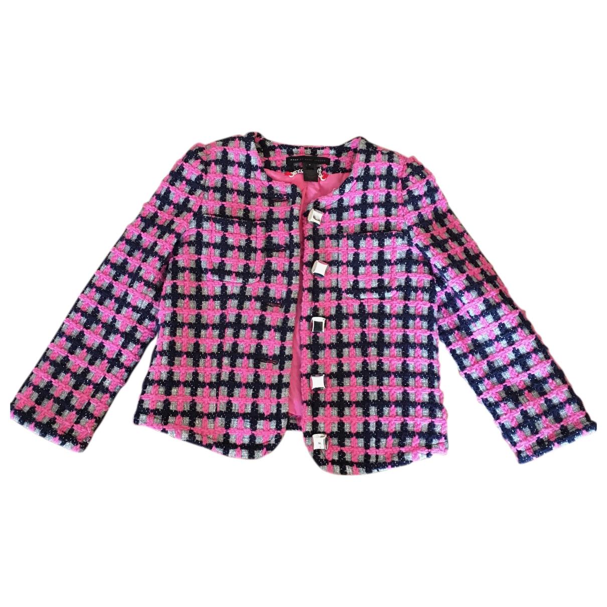 Marc By Marc Jacobs - Veste   pour femme en laine - rose