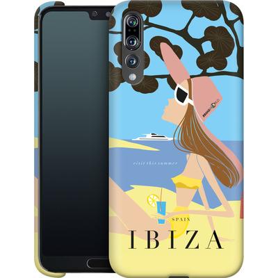 Huawei P20 Pro Smartphone Huelle - IBIZA TRAVEL POSTER von IRMA