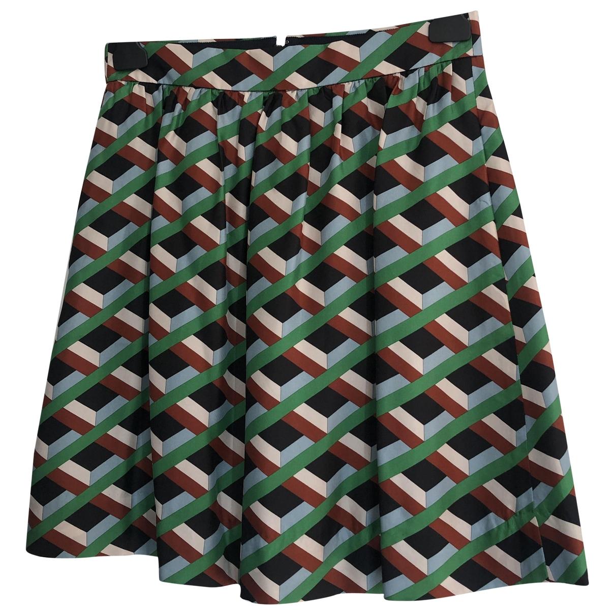 J.crew - Jupe   pour femme en soie - multicolore