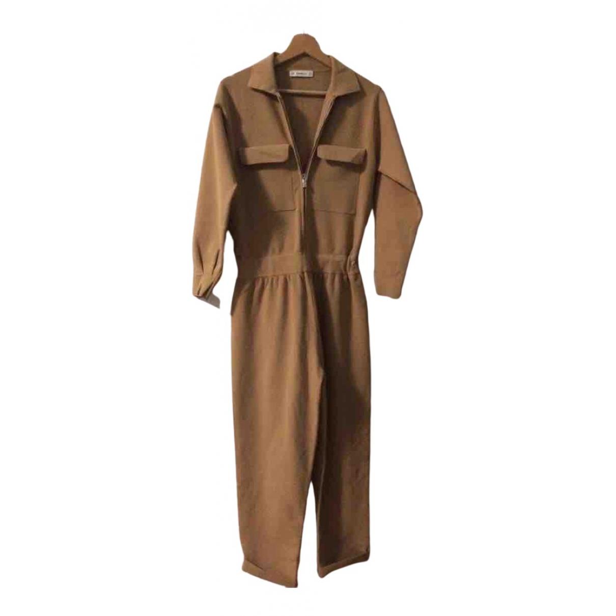 Zara - Combinaison   pour femme - camel