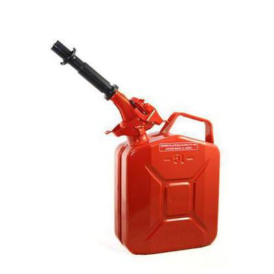 Wavian Steel Gas Can with Spout - JC005RVS