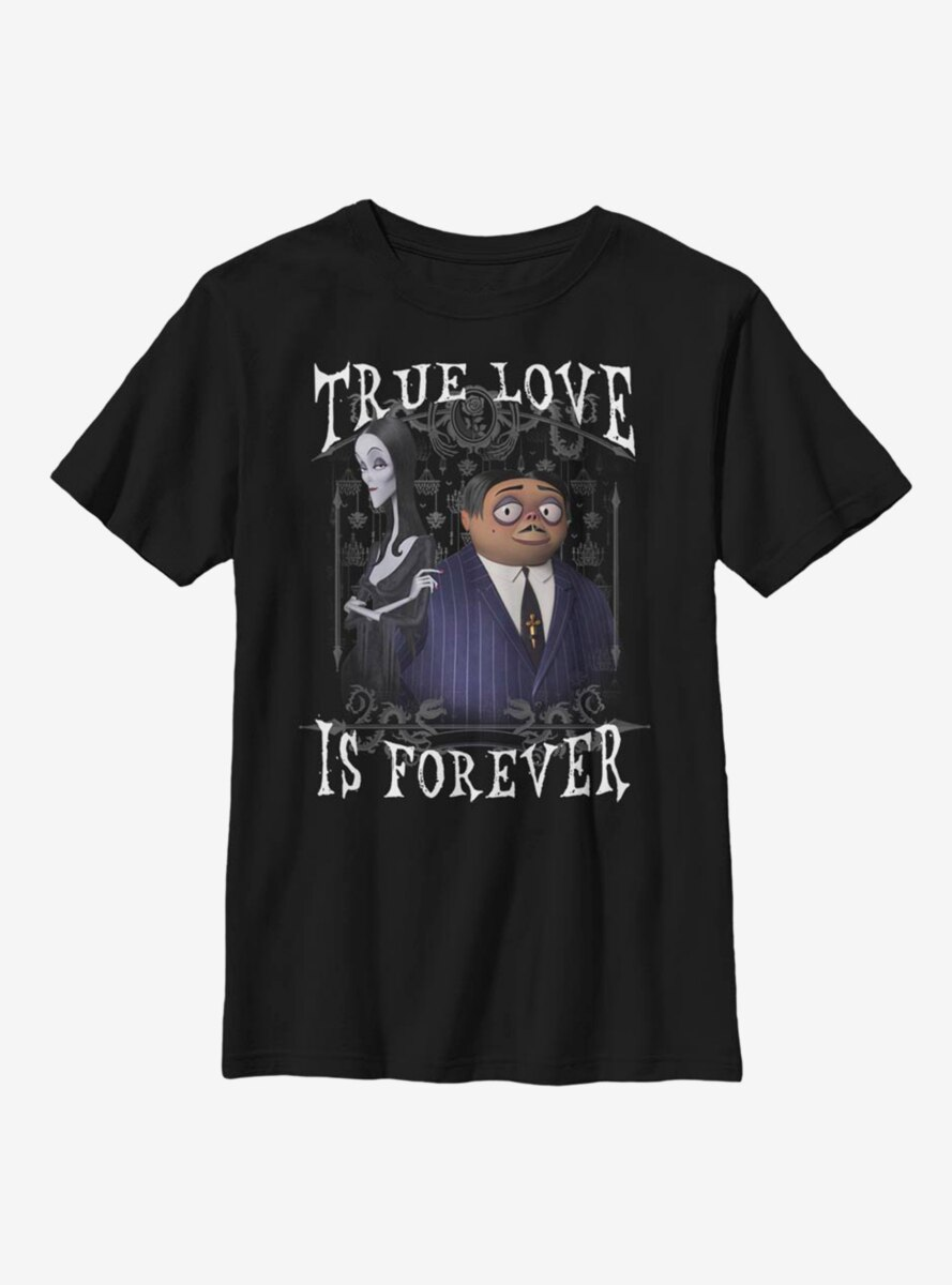 The Addams Family Forever Youth T-Shirt