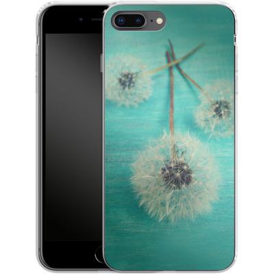 Apple iPhone 8 Plus Silikon Handyhuelle - Three Wishes von Joy StClaire