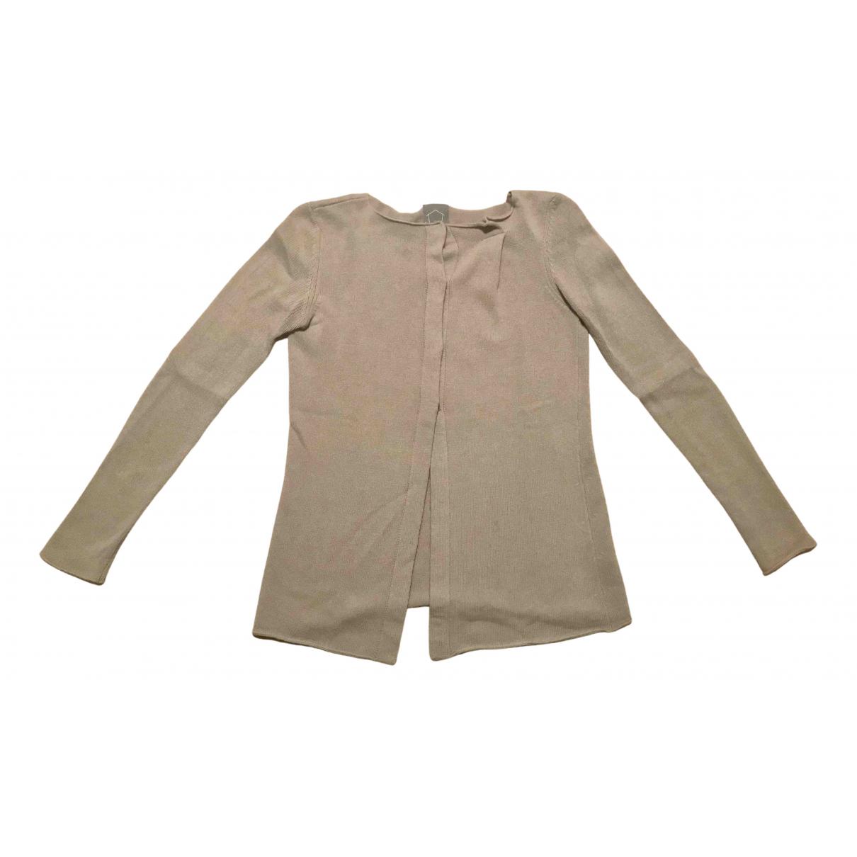 Non Signé / Unsigned N Khaki Wool Knitwear for Women 40 IT