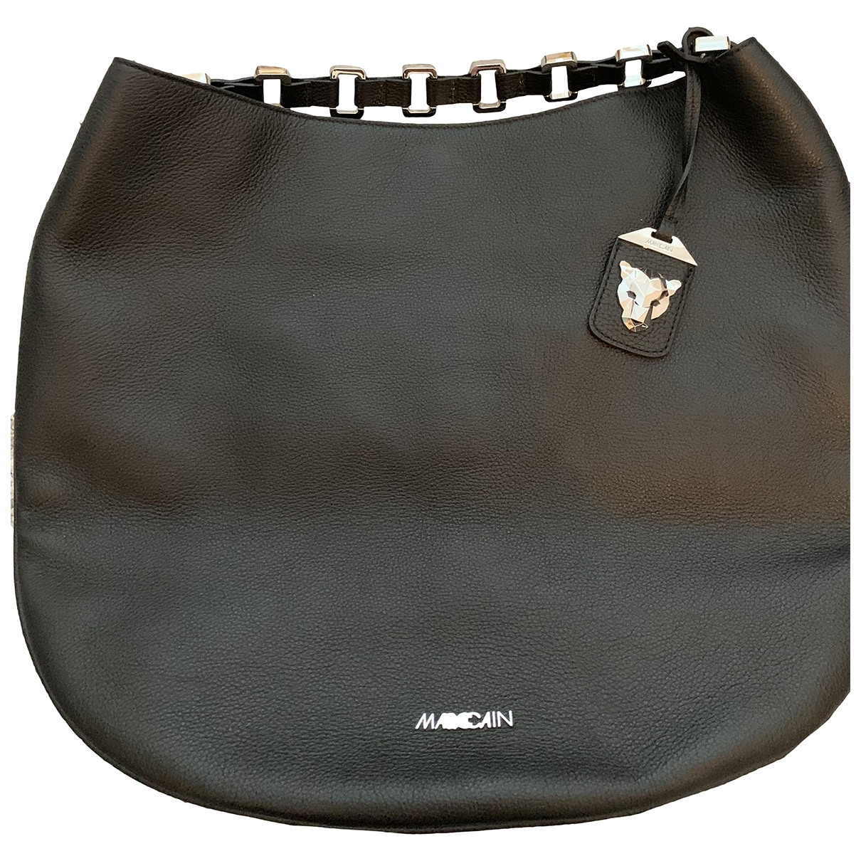 Marc Cain \N Black Leather handbag for Women \N