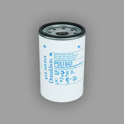 Donaldson P551843 - Fuel Filter, Water Separator Spin On