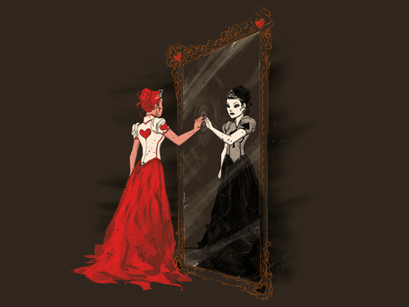 Two Queens T Shirt