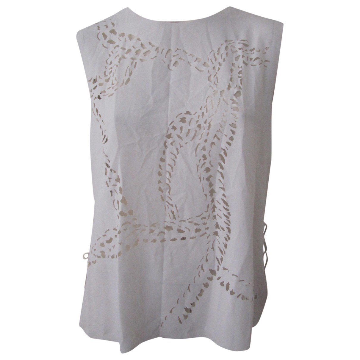 Emilio Pucci \N White  top for Women 44 IT