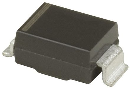 Vishay SMBG5.0A-E3/52, Uni-Directional TVS Diode, 600W, 2-Pin DO-215AA (20)