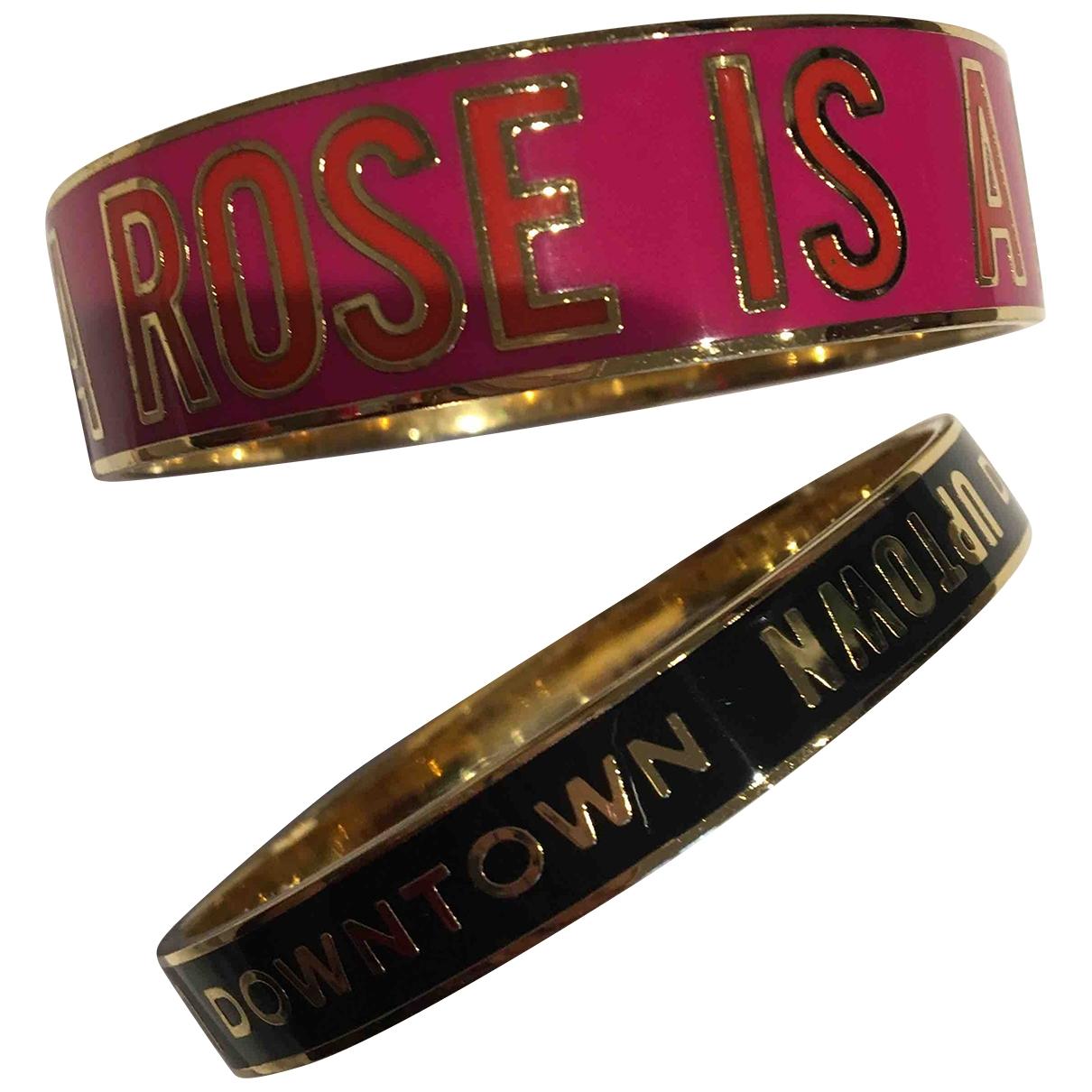 Kate Spade \N Armband in  Rosa Metall