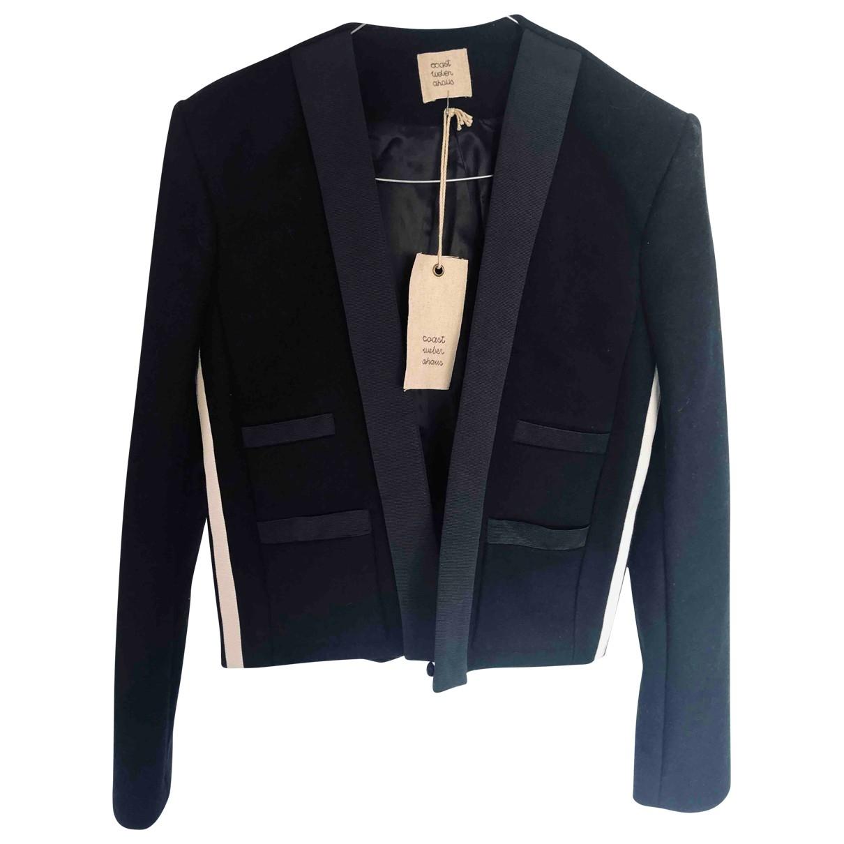 Coast Weber & Ahaus - Veste   pour femme en laine - noir