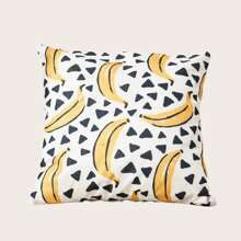 Banana Print Cushion Cover Without Filler
