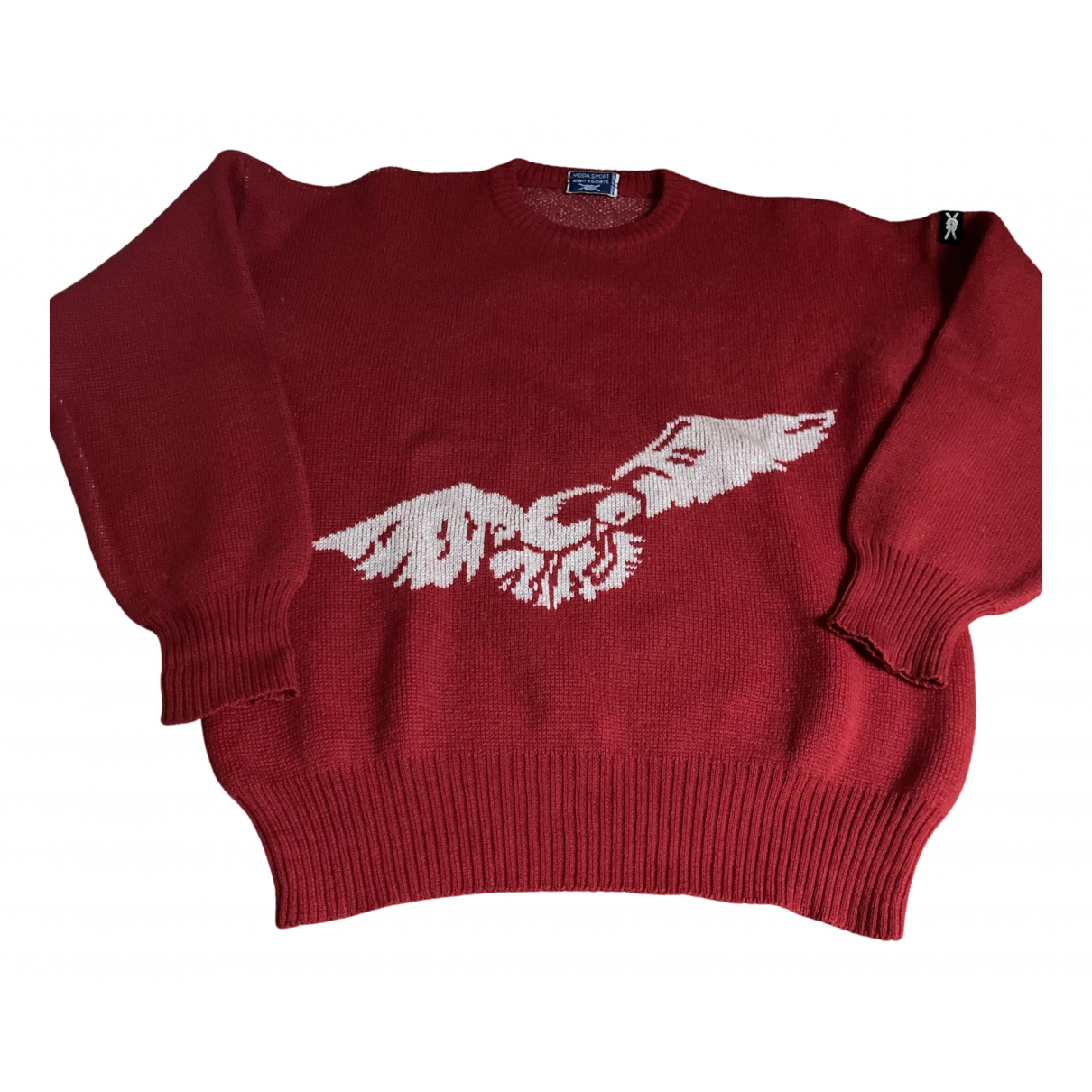 Non Signé / Unsigned N Red Wool Knitwear & Sweatshirts for Men L International