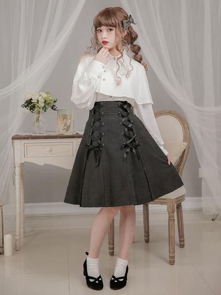 Milanoo Classic Lolita Blouse Moment Layered Lolita Top