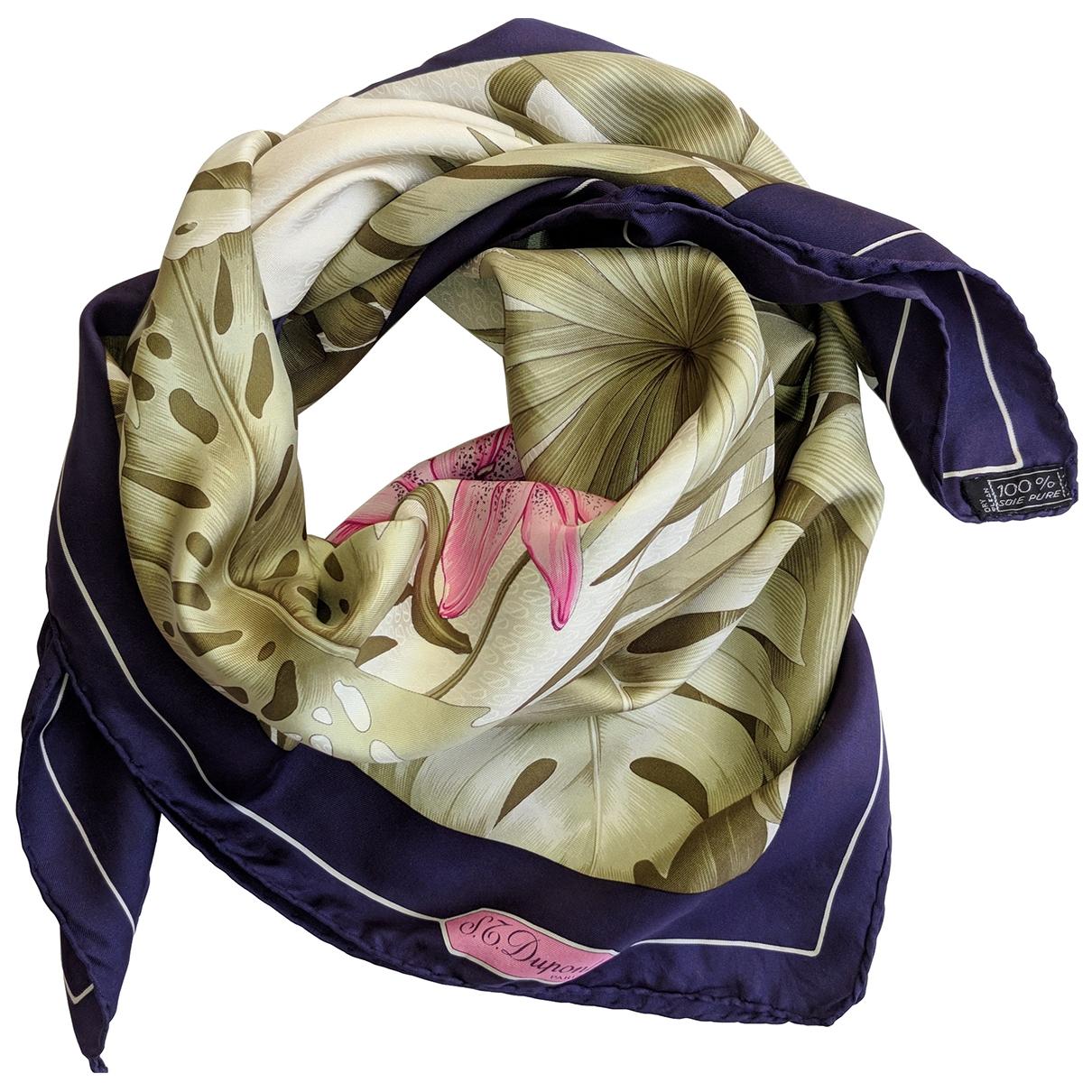 S.t. Dupont - Foulard   pour femme en soie - multicolore