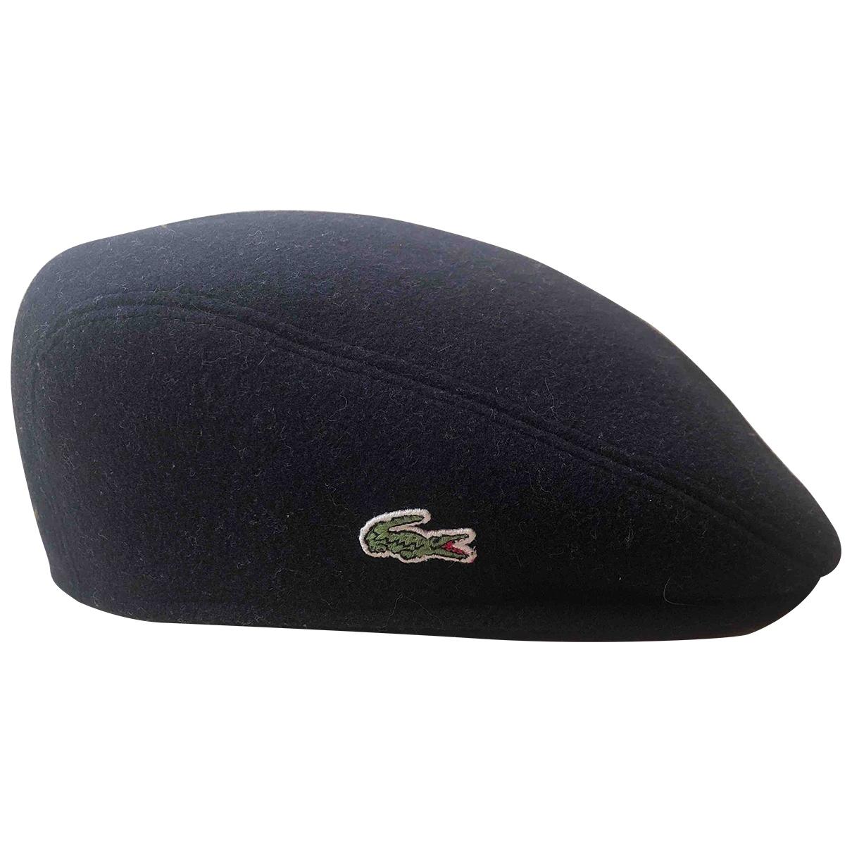 Lacoste Live - Chapeau & Bonnets   pour homme en laine - bleu