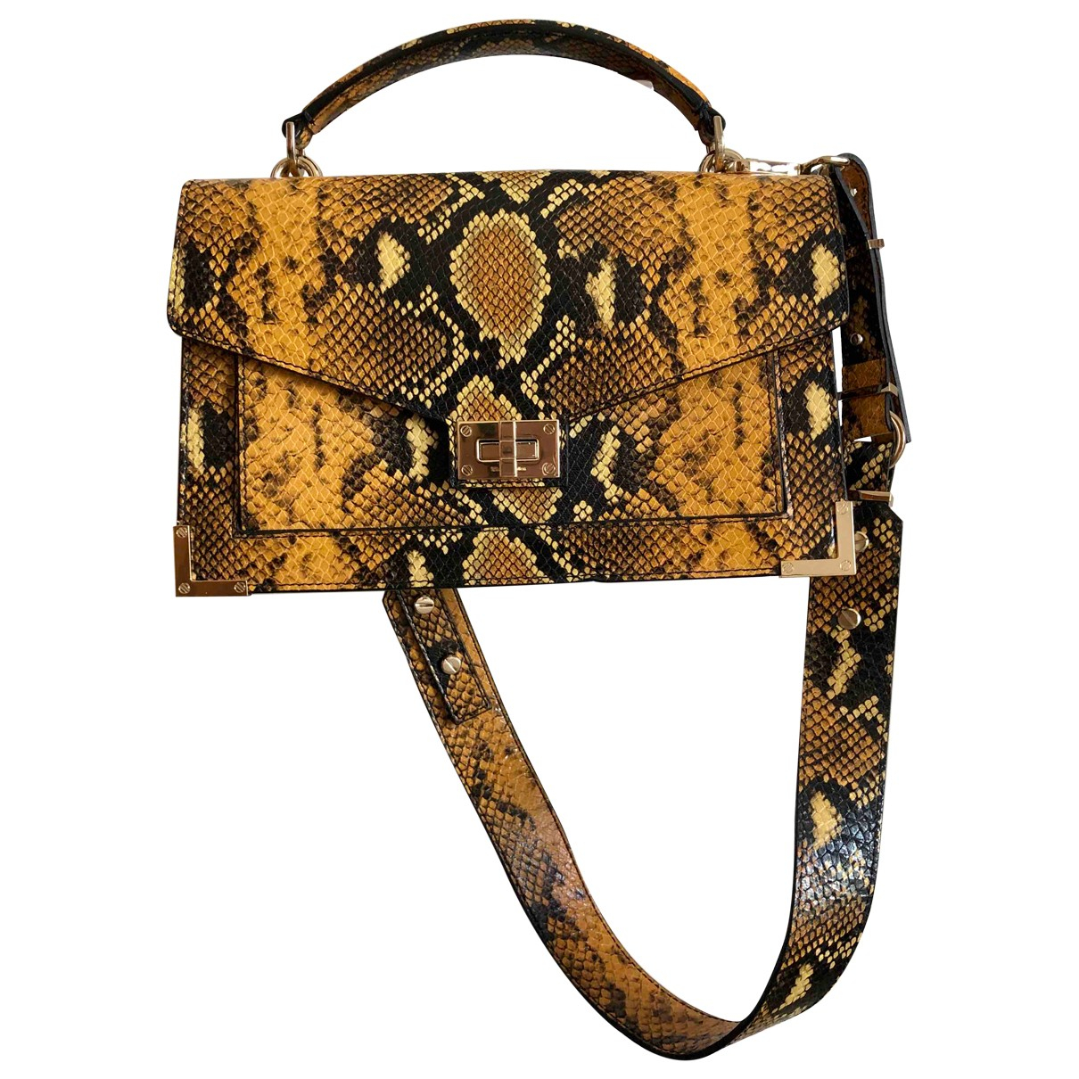 The Kooples Emily Yellow Leather handbag for Women \N