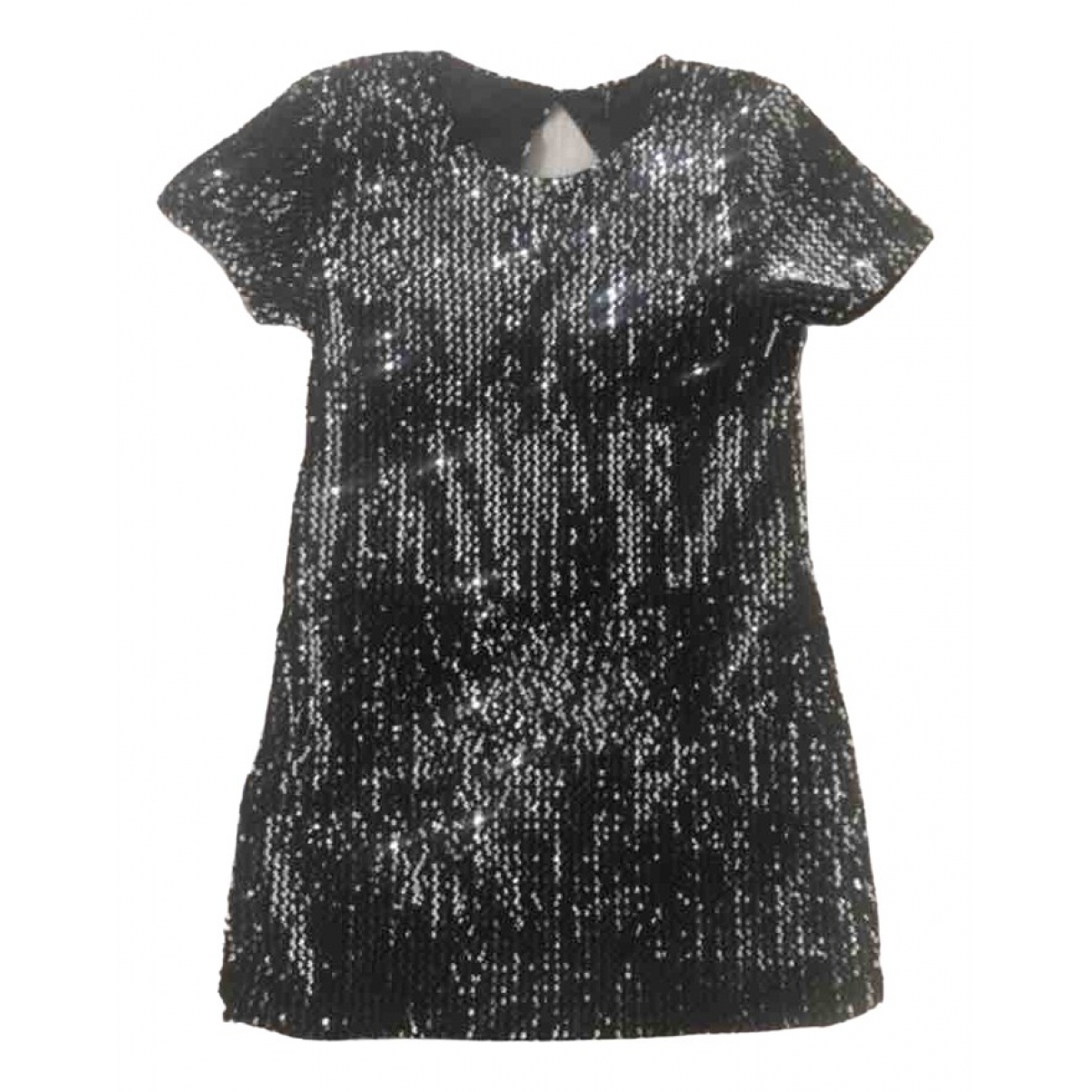 Non Signé / Unsigned \N Grey Glitter dress for Women 38 FR