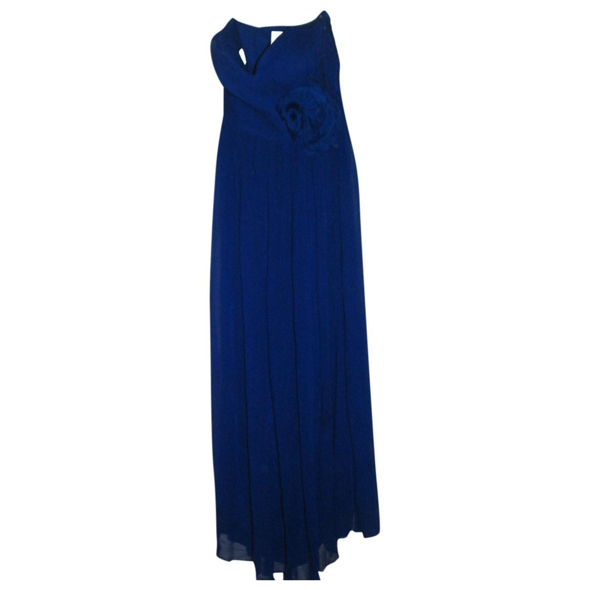 Maxi vestido de Seda Marchesa Notte